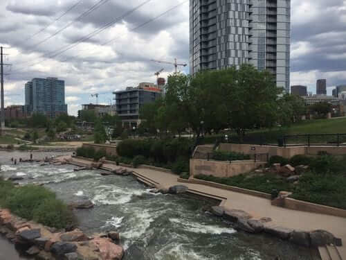 South Platte River Greenway Trail East